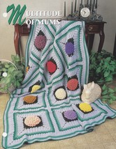 Multitude of Mums, Annie's Crochet Quilt & Afghan Pattern Club Leaflet Q... - $2.95