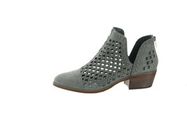 Vince Camuto Suede Cutout Booties Phortiena Greystone 5.5M NEW A343284 - £89.93 GBP
