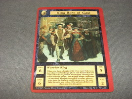 Quest For the Grail 1995 CCG: Warrior King - King Bors of Gaul - $12.00