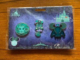 Disney Minnie Mouse Main Attraction Haunted Mansion Pins Set - $69.99