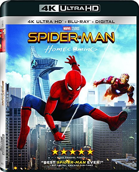 Spider-Man: Homecoming (4K Ultra HD+Blu-ray+Digital)