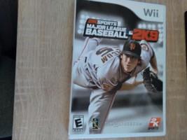 Nintendo Wii Major League Baseball 2K9 image 1