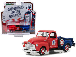 """1953 Chevrolet 3100 Pickup Truck \Standard Oil\"""" Red and Blue \""""Running ... - $20.30"""