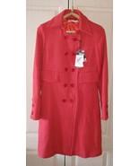 New wool red women coat - $110.00