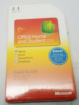 Microsoft Office Home and Student 2010 Key Card Word Excel PowerPoint.. ... - $59.99