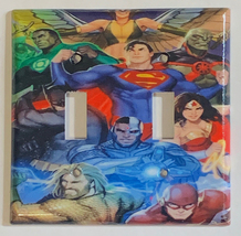 DC Superhero Super heroes Light Switch Power Outlet Wall Cover Plate Home decor image 5