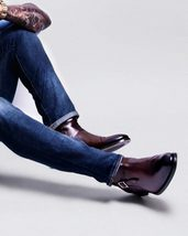 Handmade Men brown Jodhpurs boot, Men ankle boots, Men leather boots - $169.00+