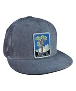 Joshua Tree National Park Trucker Hat by LET'S BE IRIE - Gray Denim Snap... - £17.26 GBP