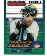 1994 Collectors Edge - Boss Rookie 1 Clear Cut - Isaac Bruce LA Rams - NICE - $1.25