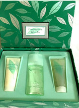Elizabeth Arden Green Tea Gift Box Set 3-Scent Spray Body Cream Shower Gel  - $26.13