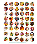 hindu krishna gods goddesses printable collage sheet clipart digital dow... - $3.99
