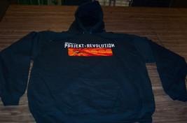 Linkin Park Projekt Revolution Tour Hoodie Hooded Sweatshirt Band Xl New - $49.50