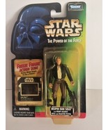 Star Wars Power of the Force POTF2 Freeze Frame Bespin Han Solo .01 ERRO... - $6.92