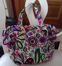 Vera Bradley small handbag with a bow on each side in Viva La Vera - $12.95