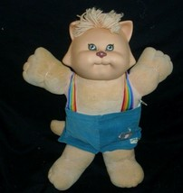 "14 "" Vintage 1983 Chou Patch Enfants Pêche Koosas Poupée Peluche Animal ... - $25.83"