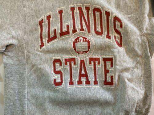 VTG Champion Reverse Weave Sweatshirt Illinois State University 80s College Med