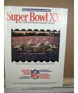 Super Bowl XXII Official How Viewer's Guide Denver Broncos /Washington R... - $8.99