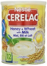 Nestle Cerelac Honey & Wheat with MIlk - 2.2 Pounds 1 Kg - 2 Pack - $50.28