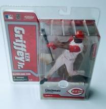 MLB McFarlane Toys Ken Griffey Jr. (2002) Reds Sportspicks Series 11 Figure - $33.99