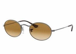 Ray-Ban Light Brown Gradient Oval Sunglasses RB3547N 004/51 54MM - $89.09