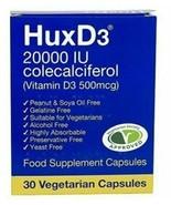 Hux D3 20,000iu |Vitamin D3| Packs of 30 | UK Pharmacy | Bulk Buy Save £'s - $10.28+