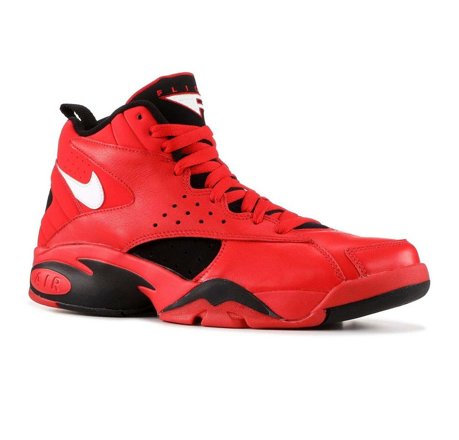 new product a2a55 331e1 Nike Air Maestro II QS Red Black Pippen Trifecta AJ9281-600 Mens Size 10.5  -  109.95