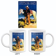 1930's Stetson Hats - Promotional Advertising Mug - $23.99+