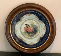 Antique Rosenthal Porcelain Cobalt Blue  Hand Painted & Signed by Artist... - $149.00