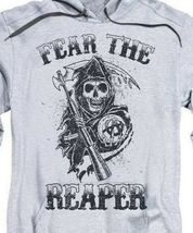 Sons of Anarchy Fear the Reaper Motorcycle Club graphic hoodie SOA124 image 3