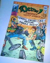 DETROIT MURDER CITY COMIX full color Comics poster print flyer Thick Stock - $8.99