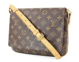 Authentic LOUIS VUITTON Musette Tango Monogram Shoulder Bag Purse #32746 - $529.00