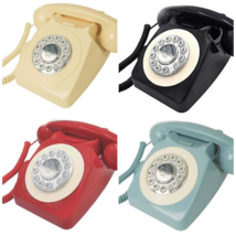 Vintage Style Home Telephone With Original Mechanical Bell Adjustable... - $35.49
