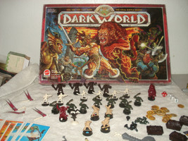 1992 Dark World Board Game by Mattel Incomplete - For Parts - $49.49