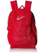 Nike Brasilia Medium Mesh Training Backpack, BA6050 657 University Red/W... - $49.95