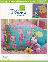 Pooh & Pals Light Up A Room, Leisure Arts Cross Stitch Pattern Booklet 3535 - $5.95