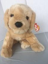 TY BEANIE Buddy  Collection Baby FETCH Golden Retriever Lab Dog w/tag Ta... - $18.69