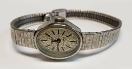 Gruen Swiss Womens Watch 10K RGP Bezel Wristwatch 17 Jewels White Gold Vintage - $99.00