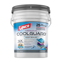 5 Gal. Coolguard 100% Acrylic Urethane Elastomeric Reflective Roof Coati... - $207.76