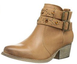 Betsey Johnson Women's Willow Ankle Boot, Tan,  Size US 7.5 - $45.53