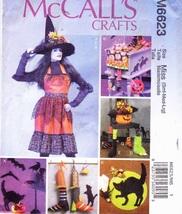 McCalls 6623 Crafts Halloween Fun Make an Apron... - $5.50