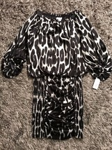 NWT Jessica Simpson Cougar Black Dress (Size 8) - £28.20 GBP