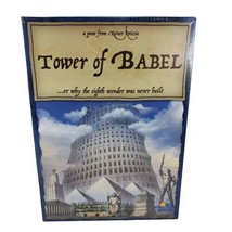 The Tower of Babel Game Strategy Reiner Knizia Rio Grande Games Factory ... - $62.88