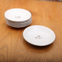8 International Ironstone Salem China Whimsey Saucers - $26.17