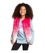 NEW Trolls Girls' Printed Fur Vest - Pink - Siz... - $19.99