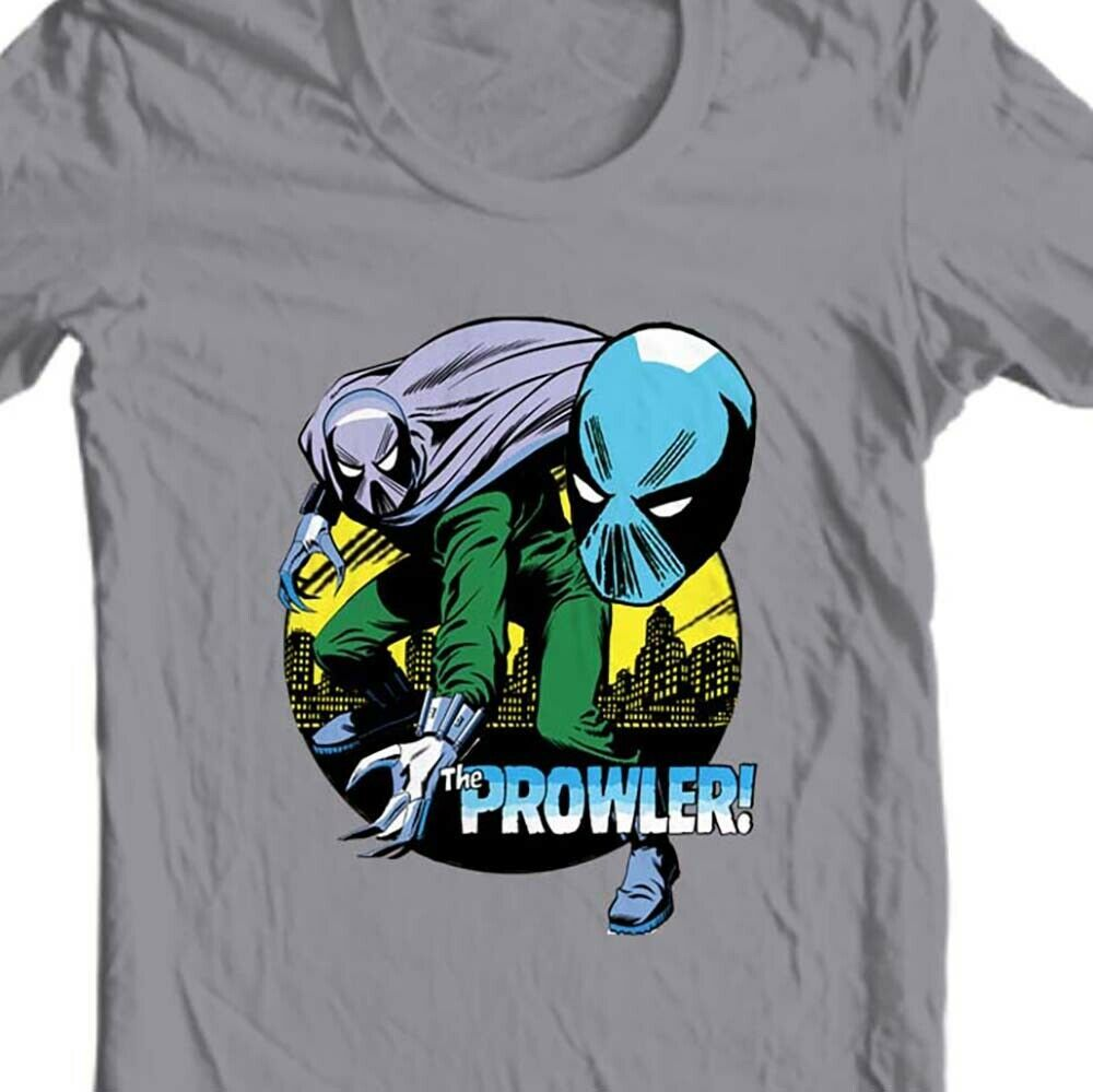 The Prowler T-shirt Hobie Brown retro cotton graphic tee Marvel Bronze Age