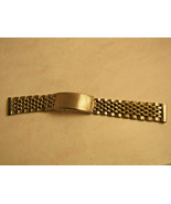 17.5 mm Seiko straight end beads of rice stainless steel band for repair... - $140.29