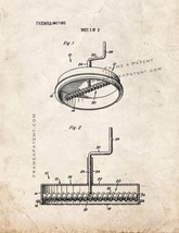 Pizza Sauce Spreader Patent Print - Old Look - $7.95+