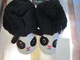 Toddler Girls Panda Cartoon Slipper size 11/12 Brand New - $14.50