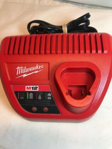 Primary image for NEW Genuine Milwaukee 48-59-2401 M12 12V Lithium Ion Battery Charger 12 Volt