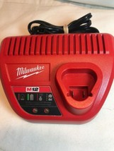 NEW Genuine Milwaukee 48-59-2401 M12 12V Lithium Ion Battery Charger 12 ... - $17.58
